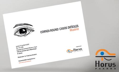 Cornea Round - MADRID - Lunes 27 de Abril