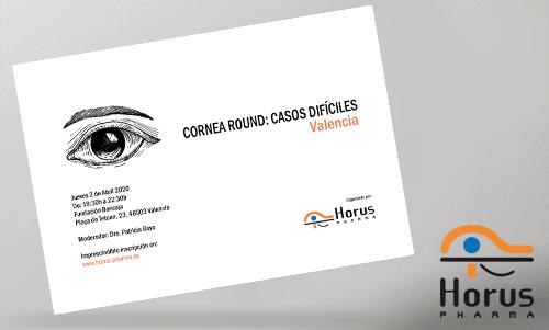 Cornea Round - VALENCIA - Jueves 2 de Abril
